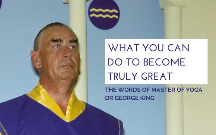 What you can do to become truly great