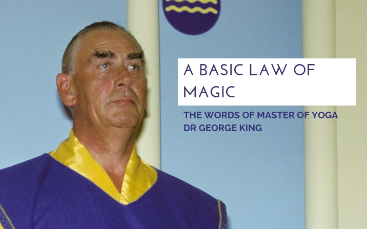 A basic law of magic