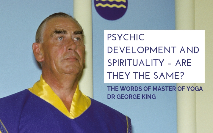Psychic development and spirituality – are they the same?