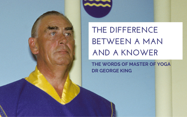 The difference between a man and a knower