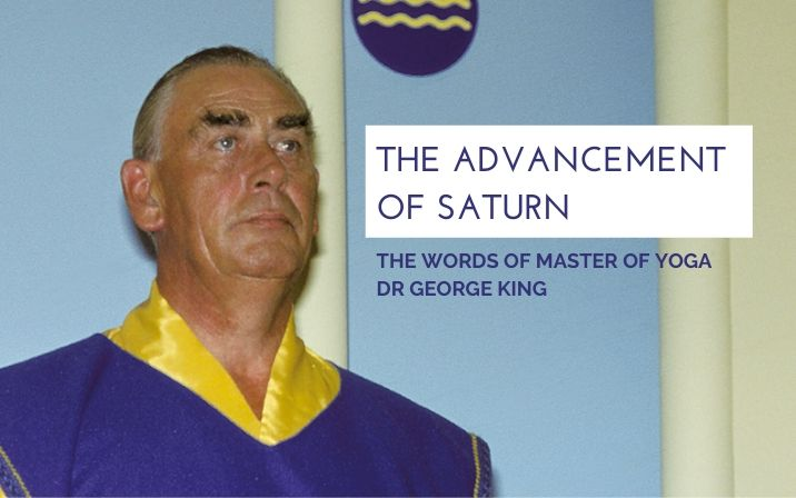 The advancement of Saturn